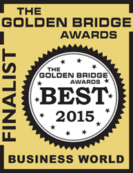 2015 Golden Bridge Awards Finalist Logo