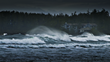 Winter storms bring waves of up to 25 feet right outside the Wickaninnish Inn, a member of Relais & Chateaux located on the rugged west coast of Vancouver Island.