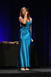 Sally-Ann D'Amato performs the opening number at the SMPTE 2014 Awards Ceremony