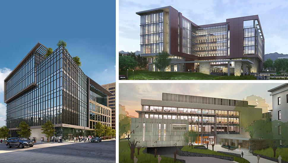 American University Law School >> Three New Law School Buildings Designed By Smithgroupjjr