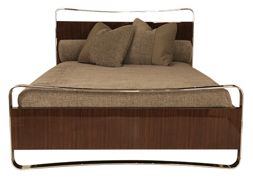 J. Robert Scott Ribbon Bed Designed By Sally Sirkin Lewis.