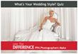 New Quiz Helps Brides Determine Wedding Style While Avoiding Photographer Pitfalls