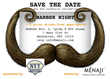 Media Alert For MENAJI'S First Annual NYC Barber Night at NYY Steak