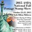 Come to the 2015 ASDA National Fall Postage Stamp Show, Oct. 23-25