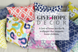 Clairebella's Give Hope Decor