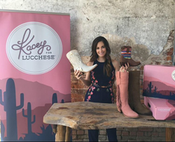 Kacey Musgraves unveils the Kacey for Lucchese boot collection.