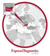 Express Diagnostics Global EMEA map