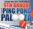 Ninth Annual Ping Pong Palooza at Sapphire Gentlemen's Club Las Vegas to Benefit Sapphire Foundation for Prostate Cancer, Tuesday November 10th at 6pm