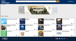 ORU OneCampus Screenshot