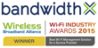 BandwidthX Wins 2015 WBA Best Wi-Fi Management Solution for a Service Provider Wi-Fi Industry Award