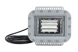 ATEX Zone 1 & 2 Certified Low Profile LED Light Fixture