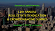 11th Annual Syndication and Crowdfunding Conference, Presented by Real Estate Legend, Karim Jaude
