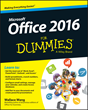 Office 2016 For Dummies, Office 2016 books, Microsoft Office 2016 books, Microsoft books