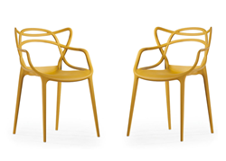 The Loop chair is back in stock and comes in pairs.
