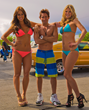 All American Bikini Car wash - Emma Lane, Jason Lockhart, Scarlet Red
