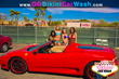 All American Bikini Car Wash - Thalia Longchamp, Scarlet Red, Dora Pereli, Emma Lane