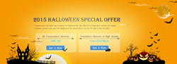 Halloween translation and transcription promotion
