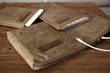 TrackPad Slip, Keyboard Slip & Keyboard Travel Express—tan waxed canvas