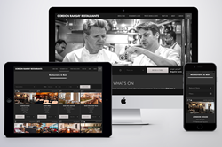 Gordon Ramsay Restaurants New Website Launch