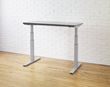 upCentric affordable electric height adjustable tables desks 2 leg standing height