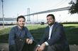 Hyphen founders Arnaud Grunwald and Ranjit Jose
