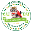 National Cat Day 2015 Celebrates 10 Years And Is Set To Be The Internet Event of The Year