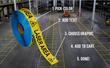 custom printed floor tape