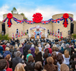 THE MAGNIFICENT RIBBON-CUTTING CEREMONY of the Ideal Saint Hill crowned a season of unprecedented Scientology achievement. Some 2,000 Scientologists gathered in West Sussex, England, for the occasion.