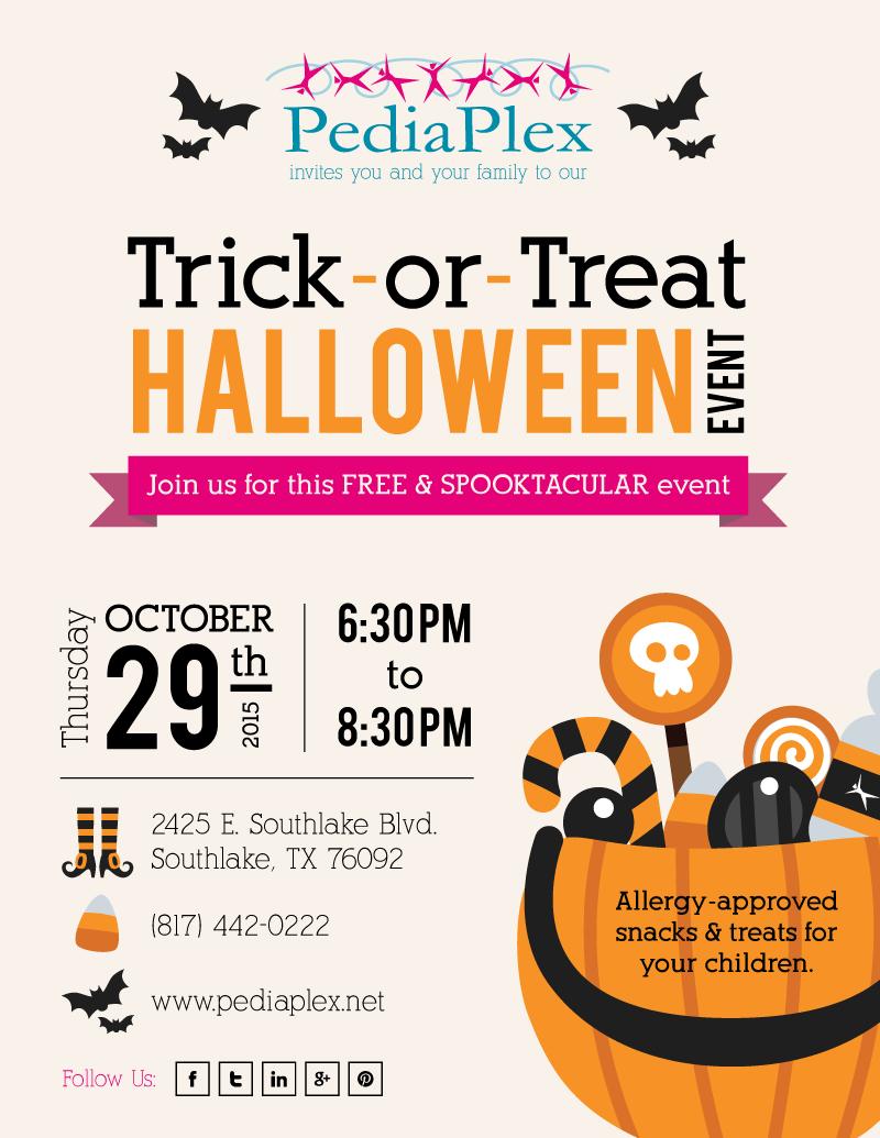 Pediaplex Sponsors Indoor Halloween Event For Southlake