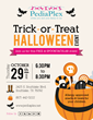 PediaPlex Sponsors Indoor Halloween Event for Southlake Children