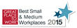 BP3 Global of Austin Texas named one of the best small and medium workplaces in the United States published in Fortune Magazine