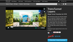 TransTunnel Layers - FCPX Transitions