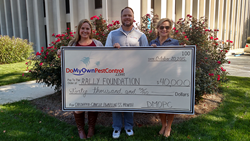 rally foundation donation for childhood cancer awareness month