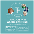 Tenacious Faith 2015 Women's Conference Reaches Out with Live Blogging, Video Updates