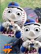 Mets fans show their love in a video recoded with Dynamite video app for iPhone.