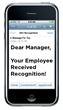New Employee Recognition Program for Human Resources Management Improves Manager-to-Employee Recognition in the Workplace