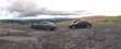 Aston Martin V12 Vantage and BMW M3 CSL in Wales