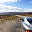 Aston Martin DB7 Vantage in the Scottish Highlands