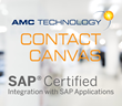 AMC Technology's Contact Canvas 6.5 Solution Achieves Certified Integration with SAP® Applications