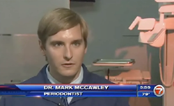 Ft. Lauderdale's Dr. Mark McCawley describes Pinhole Gum Rejuvenation on Fox 7 News