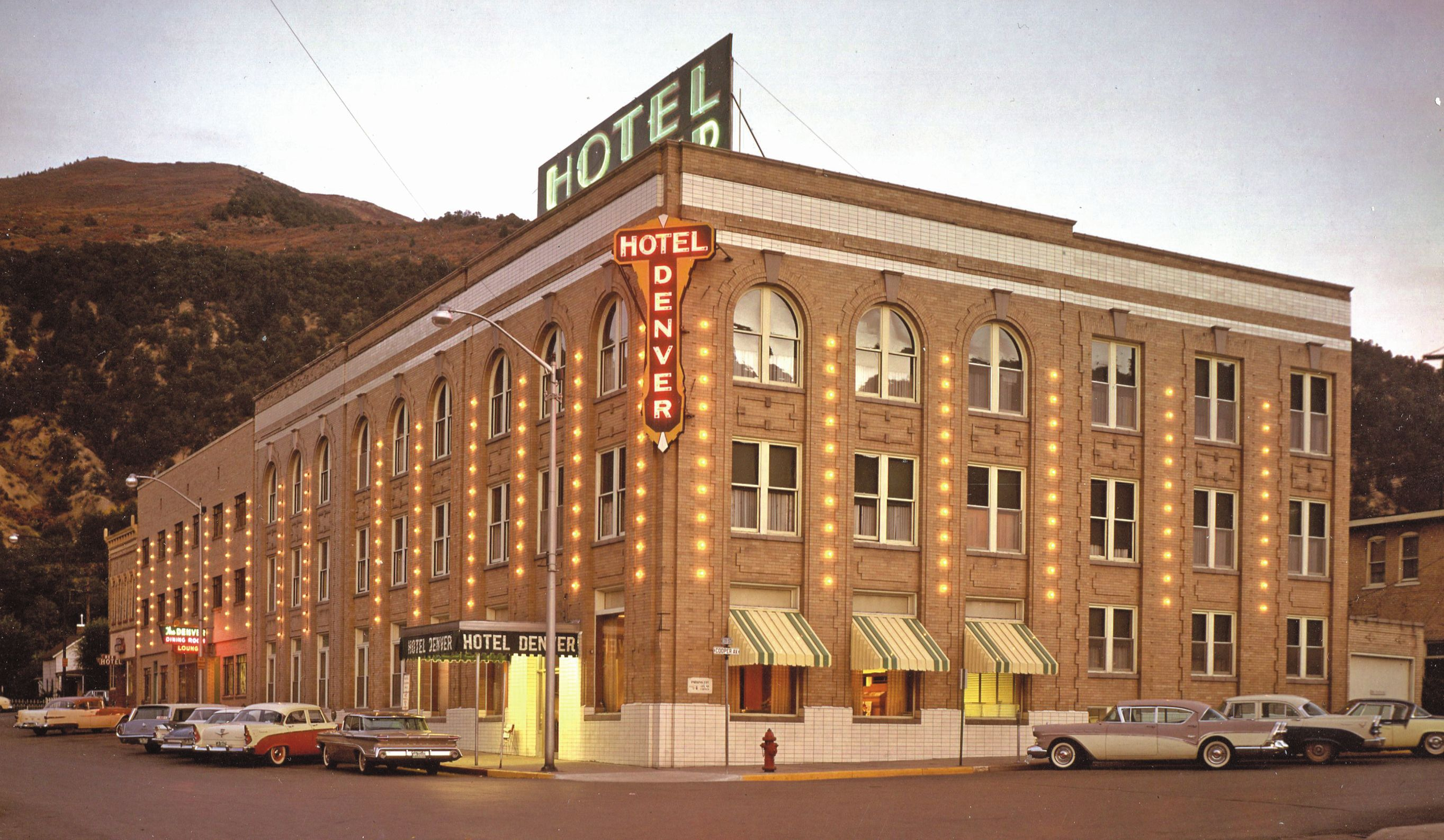 The Hotel Denver Hosted Famous And Infamous Guests In 1930s Including Clark Gable Gangster Diamond Jack Alterie