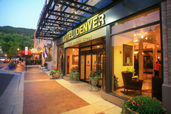 Hotel Denver Entrance