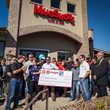 Mugshots Grill & Bar Opens Ridgeland Location with Ribbon Cutting and Check Presentation