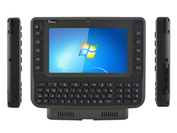 Winmate's industrial-grade, vehicle FM08 rugged, mobile PC