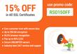 RapidSSLonline 15% Off on all SSL certificates