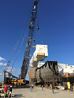 LNG Storage Tanks Installed on Crowley's First ConRo Ship