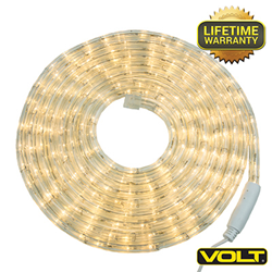 VOLT® Low Voltage LED Rope Lights for safe energy-efficient decorations.