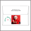 Envelope with a holiday photo