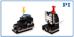 PI's Q-Motion Miniature Stackable Rotary / Linear Stages