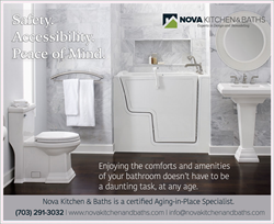 Nova Exteriors Aging-in-Place with Walk-in Tub
